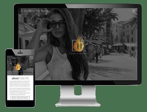 Modern Salon Websites